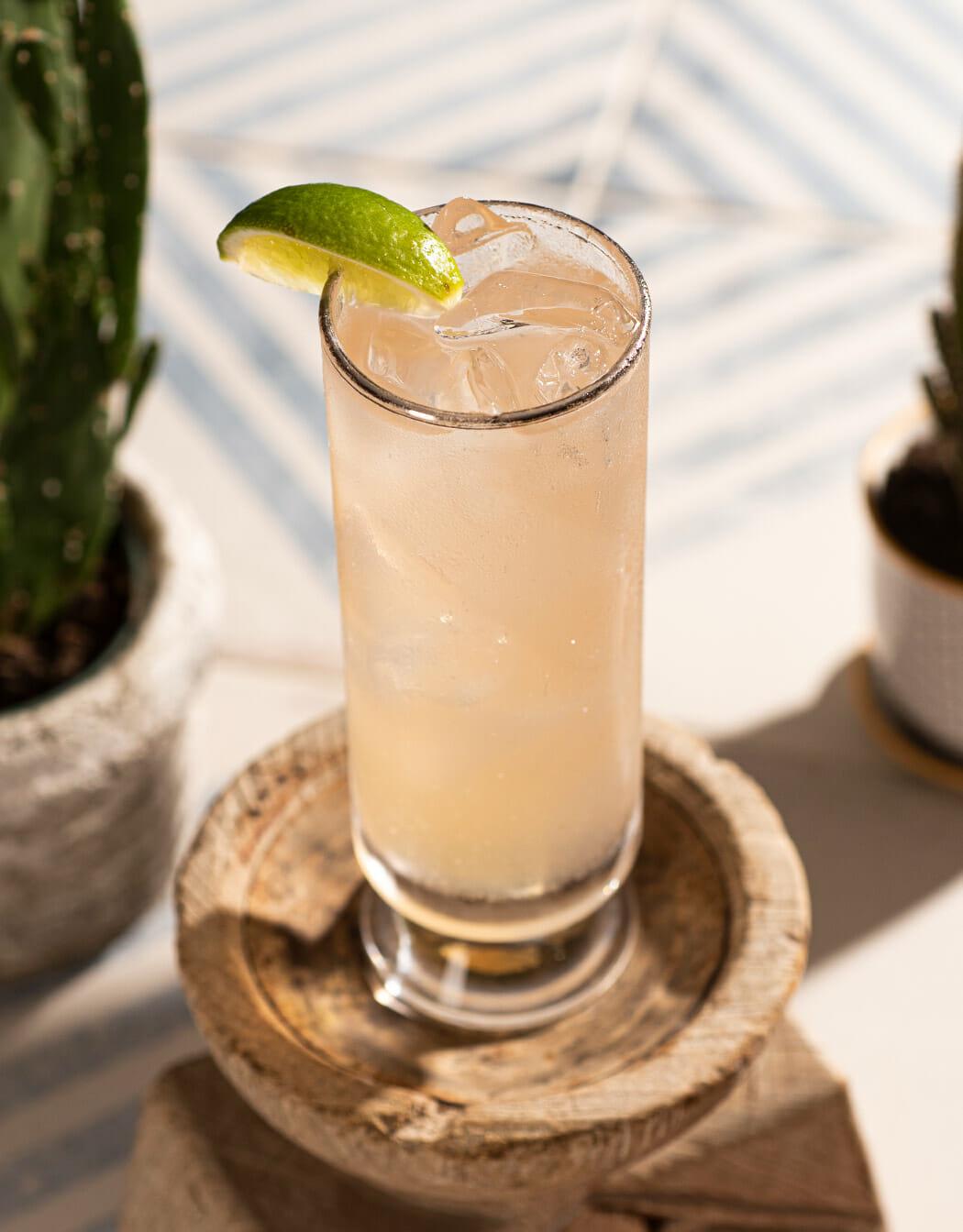 Corralejo Paloma cocktail