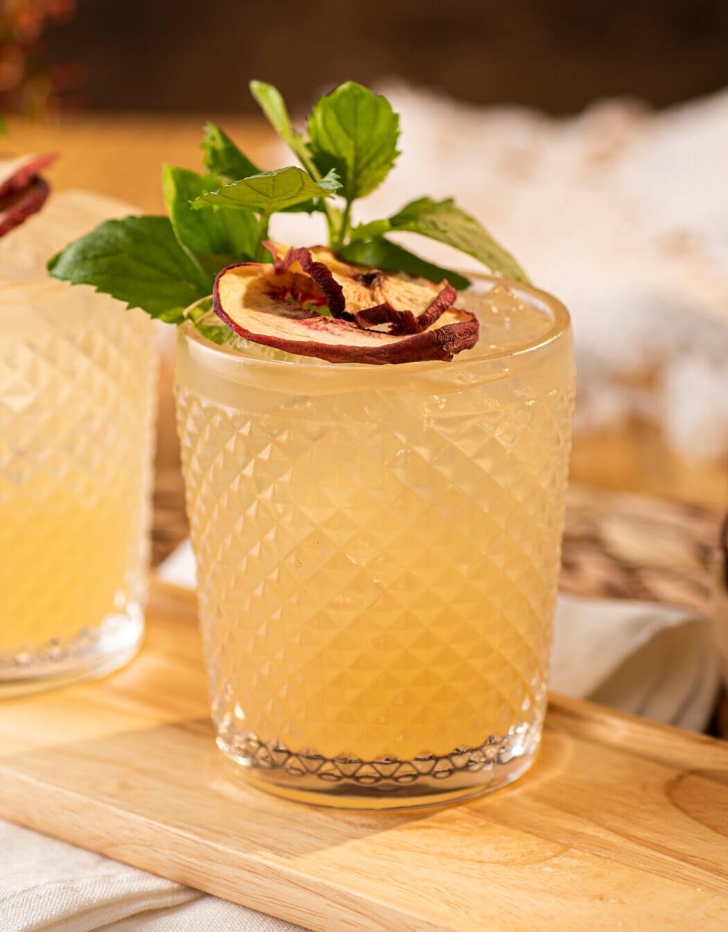 Spanish Peach Margarita cocktail