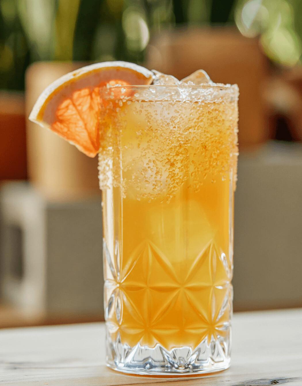 Corralejo Wrangler cocktail